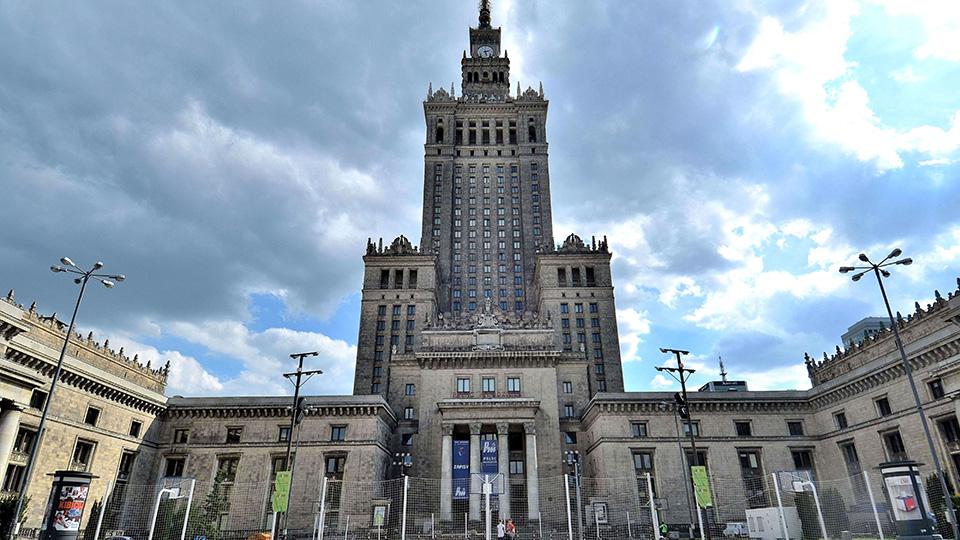 Pałac Kultury iNauki (PKiN) wWarszawie